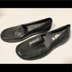 Merrill Black Ortholite Slip On Loafers Womens 7.5